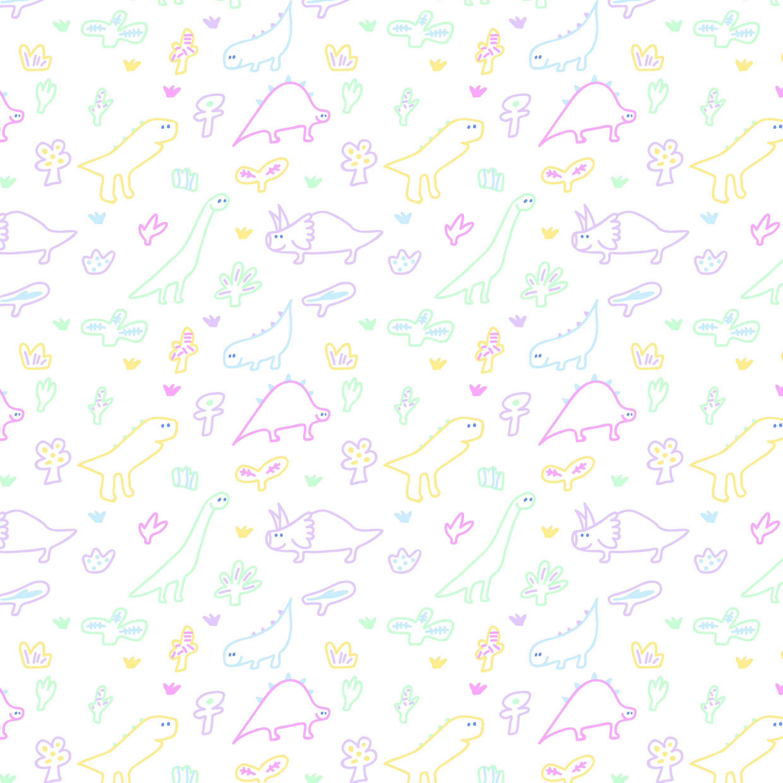 Pattern -dinosaurs-