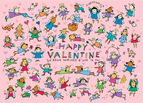 Happy Valentines Angels