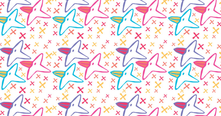 Pattern -Happy birds day-