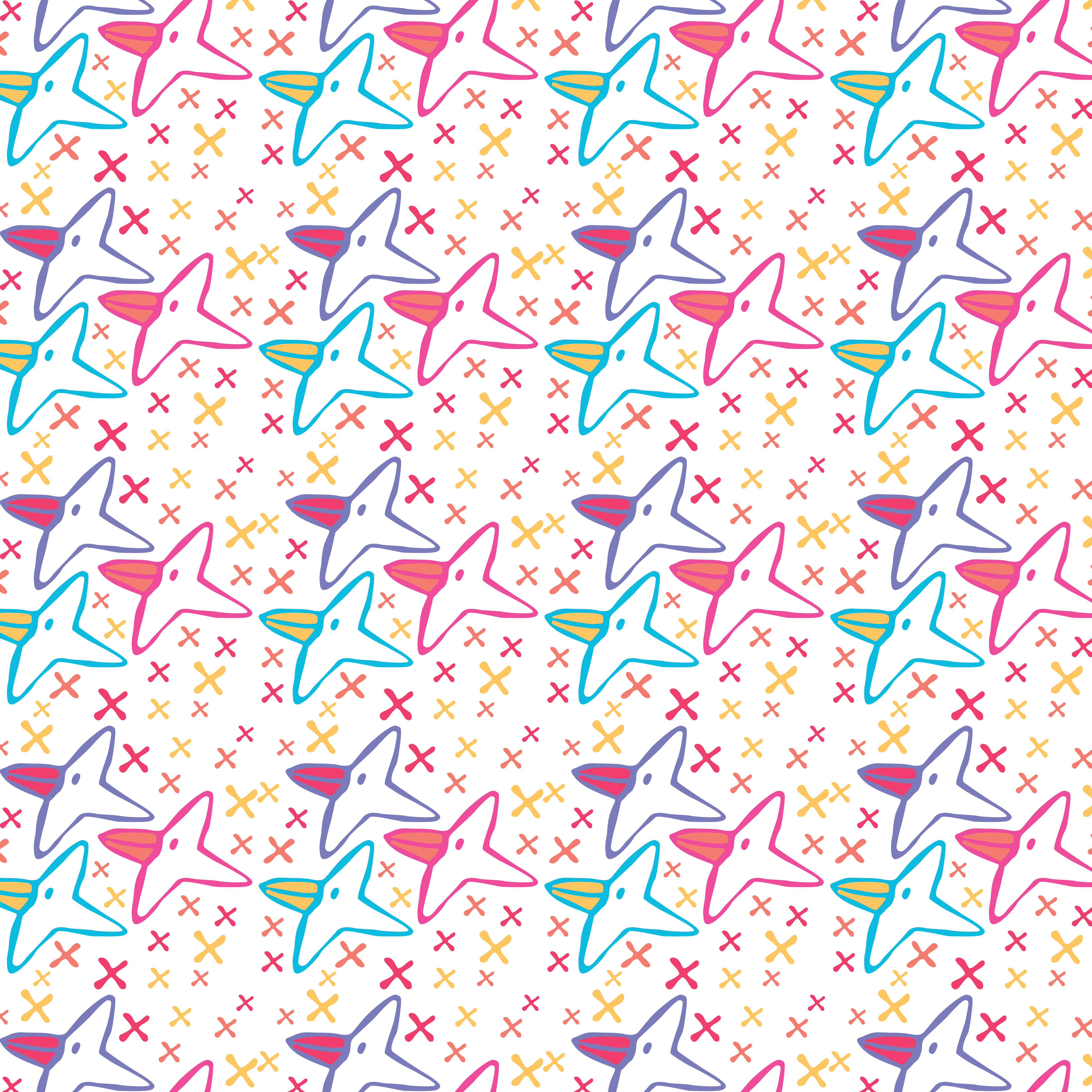 Pattern -Happy birds day-