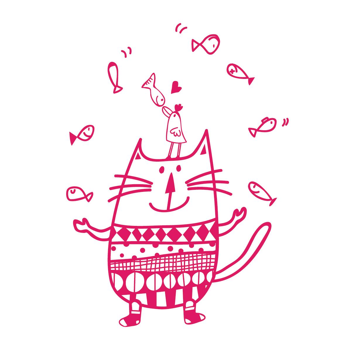 A Juggling Cat