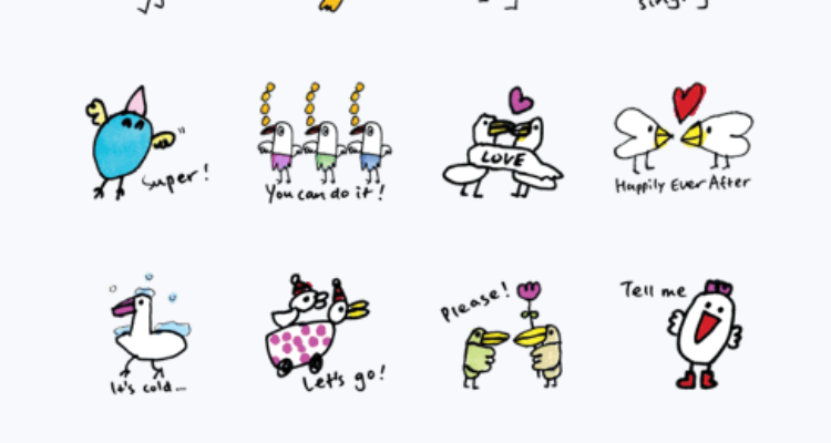LINE STICKER  JUST RELEASED!