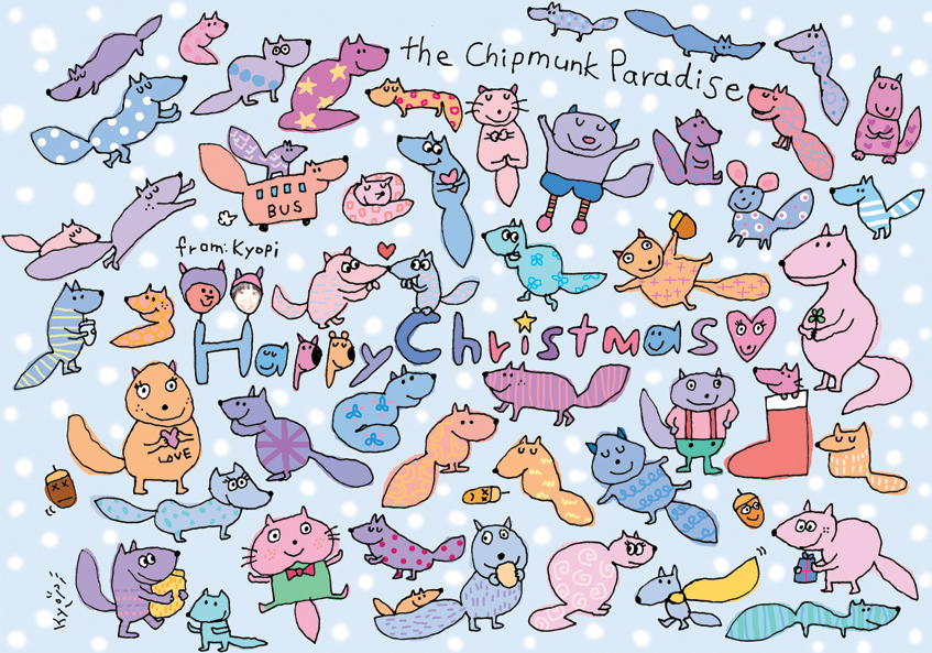 The Chipmunks Paradise!
