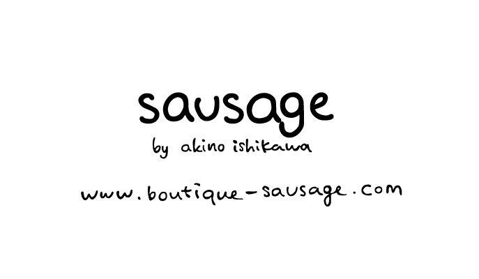 ロゴデザイン [sausage]